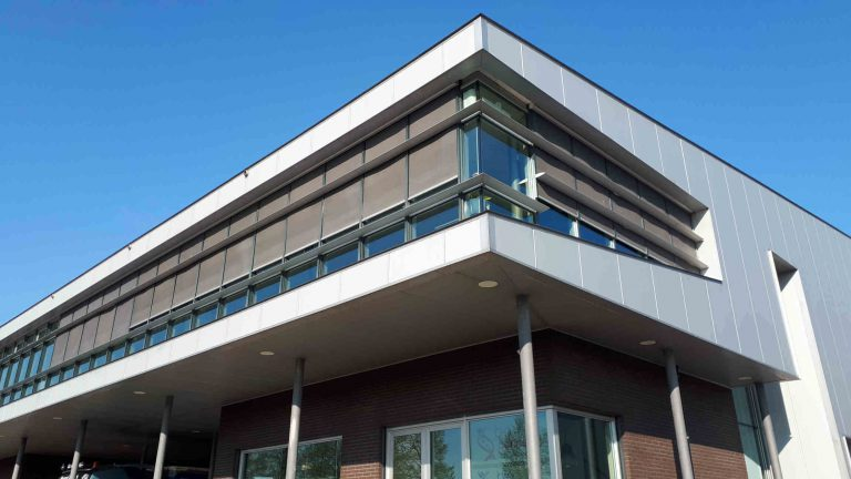 Front of Bio-Connect building